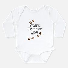 Cairn Terrier Mom Long Sleeve Infant Bodysuit