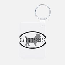 Cairn Terrier Oval #2 Keychains