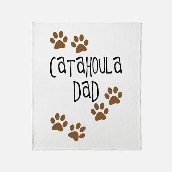 Catahoula Dad Throw Blanket