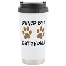 Owned By A Catahoula Travel Mug