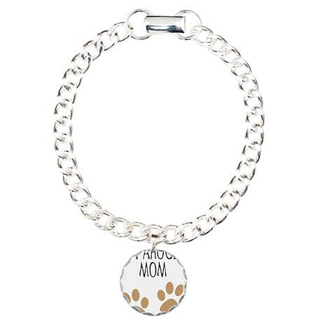 Catahoula Mom Charm Bracelet, One Charm