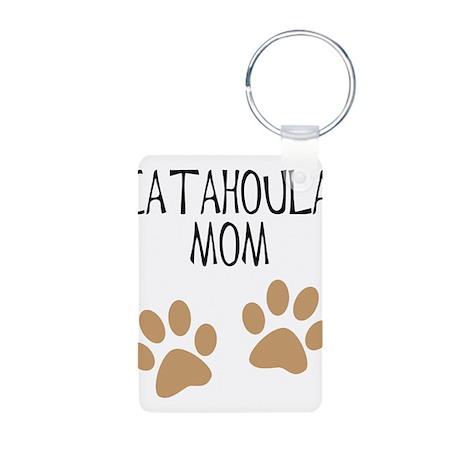 Catahoula Mom Aluminum Photo Keychain
