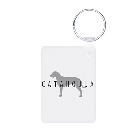 Catahoula Aluminum Photo Keychain