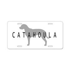 Catahoula Aluminum License Plate
