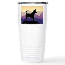 Chihuahua Purple Mountains Travel Mug