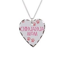 Pink Chihuahua Mom Necklace