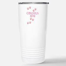 Pink Chihuahua Mom Travel Mug
