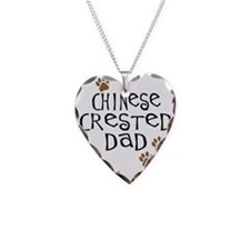 Chinese Crested Dad Necklace