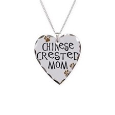 Chinese Crested Mom Necklace