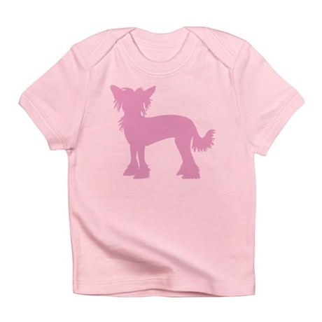 Chinese Crested Pink Infant T-Shirt