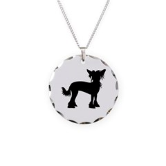 Chinese Crested Dog Necklace