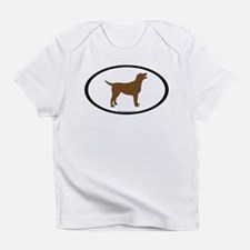 Funny Chocolate lab Infant T-Shirt