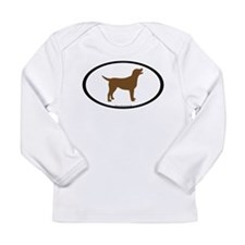 Unique Chocolate lab Long Sleeve Infant T-Shirt