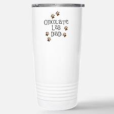 Chocolate Lab Dad Travel Mug