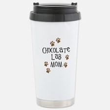 Chocolate Lab Mom Travel Mug