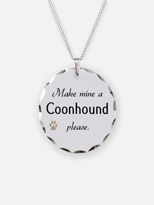 Make Mine Coonhound Necklace