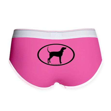 Coonhound #2 Oval Women's Boy Brief