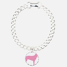 Pink Coonhound Bracelet