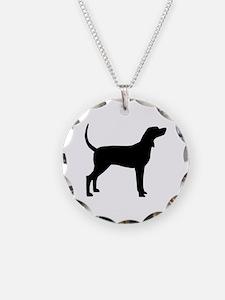 Coonhound Dog (#2) Necklace