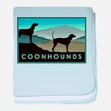 Blue Hills Coonhounds baby blanket