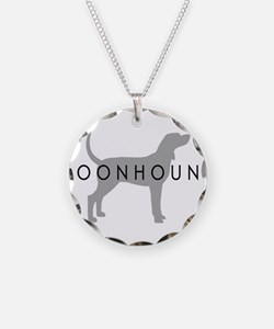 Coonhound (Grey) Dog Breed Necklace