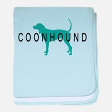 Coonhound Dogs baby blanket