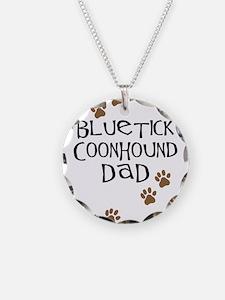 Bluetick Coonhound Dad Necklace