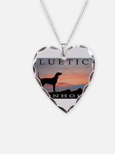 Bluetick Coonhound Sunset Necklace