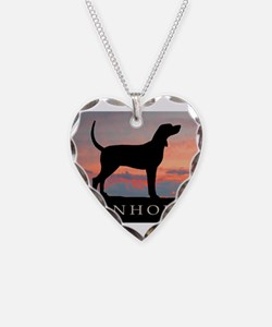 Sunset Coonhound Necklace