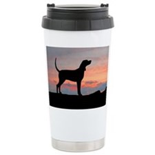 Sunset Coonhound Travel Mug