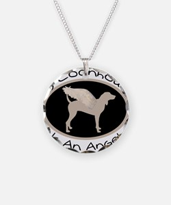 Coonhound is an Angel Necklace