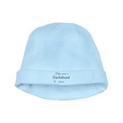 Make Mine Dachshund baby hat