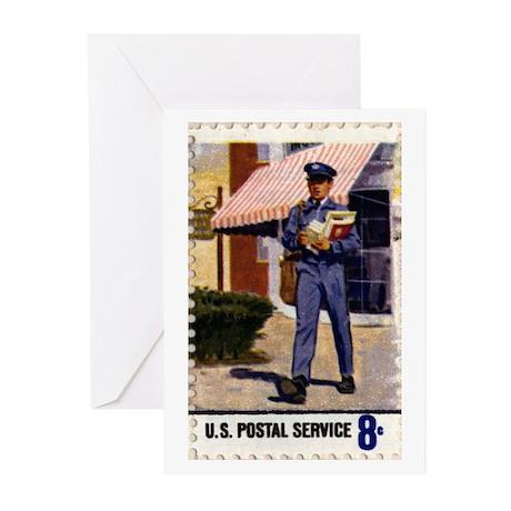 Mailman Greeting Cards (Pk of 10)