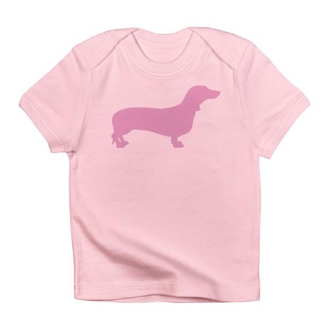 Pink Dachshund Infant T-Shirt