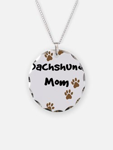 Dachshund Mom Necklace