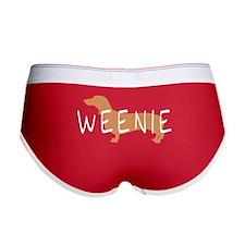 weenie dog dachshund Women's Boy Brief