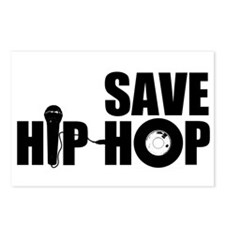 Save Hip-Hop Postcards (Package of 8)