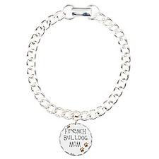 French Bulldog Mom Charm Bracelet, One Charm