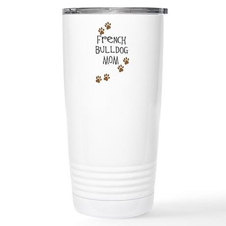 French Bulldog Mom Stainless Steel Travel Mug