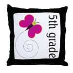 Cute Fifth Grade Throw Pillow