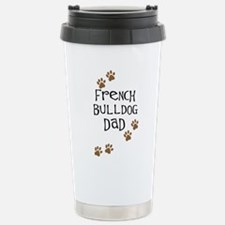 French Bulldog Dad Stainless Steel Travel Mug