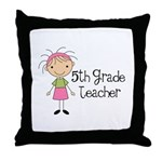 Year End Gifts 5th Grade Throw Pillow