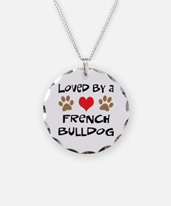 Loved By A French Bulldog Necklace