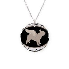Frenchie Is An Angel Necklace