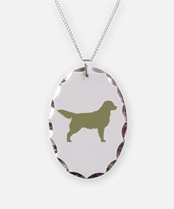 Sage Golden Retriever Necklace