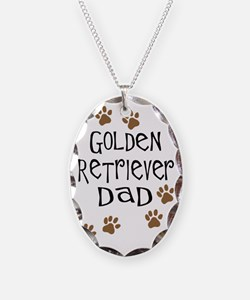 Golden Retriever Dad Necklace