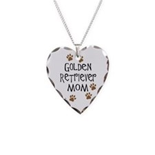Golden Retriever Mom Necklace
