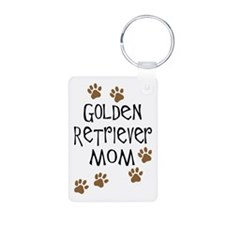 Golden Retriever Mom Keychains
