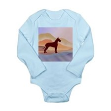 Mountain Mirage Great Long Sleeve Infant Bodysuit