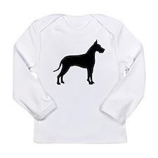 Great Dane Long Sleeve Infant T-Shirt